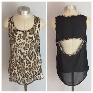 CHEETAH SHEER TANK